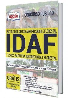 Apostila Preparatoria Concurso Instituto De Defesa Agropecuaria E