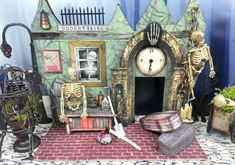 Cadaver & Digger Undertakers - Artfully Musing: Halloween Haunted Village Event - PART 2