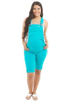 MODA PARA EMBARAZADAS JÓVENES - ROPA JUVENIL PARA EMBARAZADAS ... Maternity Gowns, Maternity Fashion, Clothes For Pregnant Women, Clothes For Women, Nursing Dress, Pinafore Dress, Fashion Outfits, Womens Fashion, Overall Shorts
