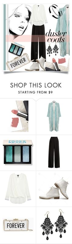 """Long Layers: Duster Coats"" by kari-c ❤ liked on Polyvore featuring Sigma, Bobbi Brown Cosmetics, RED Valentino, rag & bone, Kate Spade and DusterCoats"