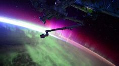 Amazing Video of the Aurora Borealis from Space