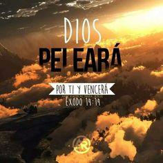 """""""Jehová te oiga en el día de conflicto; El nombre del Dios de Jacob te defienda. Estos confían en carros, y aquéllos en caballos; Mas nosotros del nombre de Jehová nuestro Dios tendremos memoria. Y pelearán contra ti, pero no te vencerán; porque yo estoy contigo, dice Jehová, para librarte"""". Salmo 20:1,7. Jeremías 1:19."""