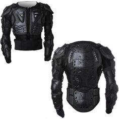 Men's Full Motorcycle Body Armor Shirt Jacket Motocross Back Shoulder Protector in eBay Motors, Parts & Accessories, Apparel & Merchandise | eBay