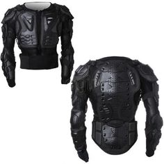 Men's Full Motorcycle Body Armor Shirt Jacket Motocross Back Shoulder Protector in eBay Motors, Parts & Accessories, Apparel & Merchandise | eBay