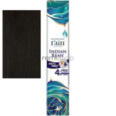 "Rain Indian Remy Long Loose Deep 4-pcs 16/16/18/18"" - Color 2 - Indian Remi Weaving - 4 pcs + closure"