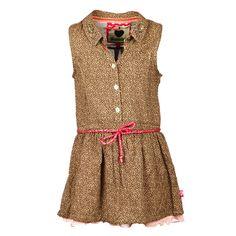 Bomba Kinderkleding | Romantische blousejurk <3 | www.kienk.nl