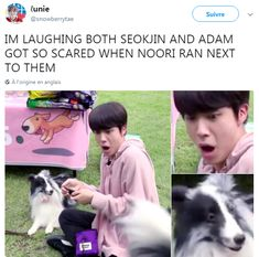 """I thought the same thing lol and it was pretty funny how Hobi was heard in every single shot, calling """"Noori Noori"""""""