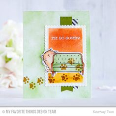 Cool Cat Stamp Set and Die-namics, Make Yourself at Home Stamp Set and Die-namics, Sweet Succulents Stamp Set, Stitched Mini Scallop Rectangle STAX Die-namics, Blueprints 25 Die-namics, Blueprints 27 Die-namics - Keeway Tsao  #mftstamps
