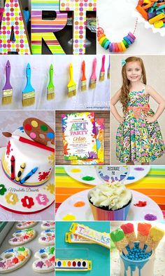 Little Artist Birthday Paty