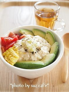 おひとり様ランチはアボカド豆腐丼。。。 by suz caf'eさん | レシピ ...