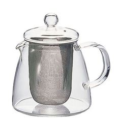 "Leaf Tea Pot ""Pure"" 360ml - HARIO Co., Ltd."