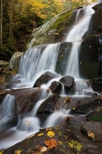 waterfall in the Great Smoky Mountains of NC