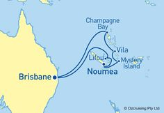 Legend Of The Seas South Pacific Cruise - Ozcruising