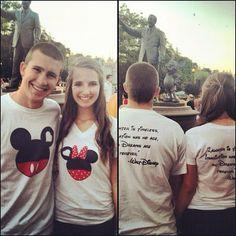 Two Disney Darlings: DIY Disney Shirts