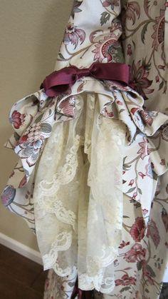 Robe a la francaise, making
