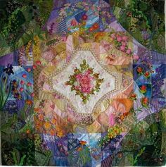 Crazy Quilt by Allie Aller. Beautiful!