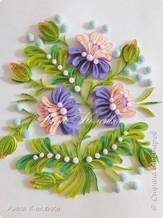 Quilling panting