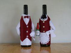 Wine bottle covers-Waiters: