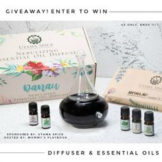 Have you been wanting to try out a diffuser and essential oils? Enter to win the Danau Dua Personal Diffuser & Essential Oils Set Giveaway! Essential Oil Set, Essential Oil Diffuser, Enter To Win, Have Some Fun, Fun Facts, Spices, Essentials, Giveaways, Box