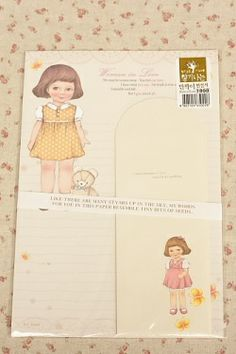 Kawaii Letter Set - Woman in love