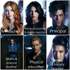 If TMI characters were teachers