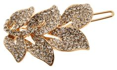 L. Erickson Crystal Vine on Tige Boule - Crystal/Light Gold -- See this great product.