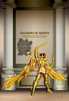 Aioros de Sagitario version 1 by vandread35 on DeviantArt