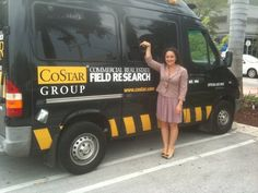 I found the COSTAR Commercial Real Estate Field Research Van!  They collect data on commercial real estate sales and leasing!