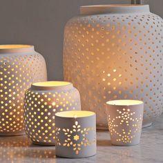 west elm porcelain tealight holders