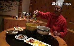 El fondue, un tradicional platillo suizo que ahora tiene sabor a ocopa