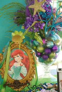 Little Mermaid under the sea | CatchMyParty.com  The best Ariel party!!