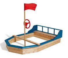 New Sandkasten Schiff