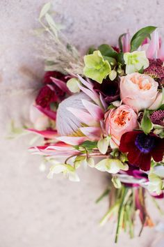 Bouquet perfection: http://www.stylemepretty.com/california-weddings/2015/05/13/old-mill-villa-inspired-shoot/ | Photography: Sally Pinera - http://www.sallypinera.com/