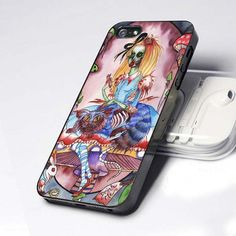 alice in wonderland zombie iphone 5 case