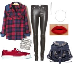 """Plaid Laid Back"" by sinceiwaslittle on Polyvore"