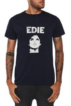 Edie T Shirt Music Tshirt Unisex shirt Black & by punktshirtsrock