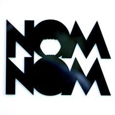 Nom Nom Wall Art, $38, now featured on Fab.