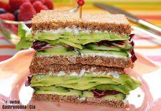 Nueve recetas de sándwich con queso fresco y queso crema