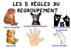 Règles du regroupement des oursons Kindergarten, Teddy Bear, Animals, Portrait, Kindergarten Classroom, Trier, Animales, Animaux, Men Portrait