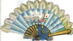 Lovely Blue Fan