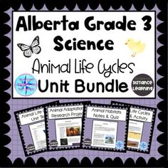 Grade 3 Science, Science Curriculum, Science Resources, Activities, Teaching Strategies, Life Cycles, Kids Education, School Ideas, Distance