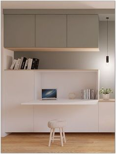 40 Trends This Year Small Home Office Furniture Design Ideas 41 – homemisuwur - Zimmereinrichtung Small Home Office Furniture, Corner Furniture, Home Office Space, Home Office Decor, Office Ideas, Ikea Office, Office Office, Small Home Offices, Furniture Chairs