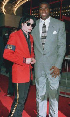 MJ and Magic Johnson