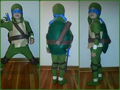 Teenage Mutant Ninja Turtle costume made by me. Rachel's Simple Sweets