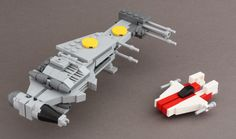 https://flic.kr/p/9j6tRb | Alphabet Wings | I'm planning a Return of the the Jedi Home One hangar diorama with A-Wings, B-Wings, X-Wings, Y-Wings, an Imperial Shuttle, Aluminum Falcon [sic]...