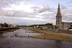 Situated at the mouth of the River Moy is the lovely town of Ballina in County Mayo