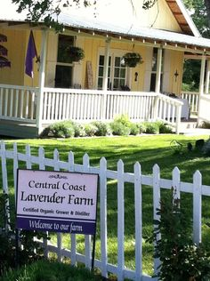 Central Coast Lavenders drying cottage in Paso Robles, CA