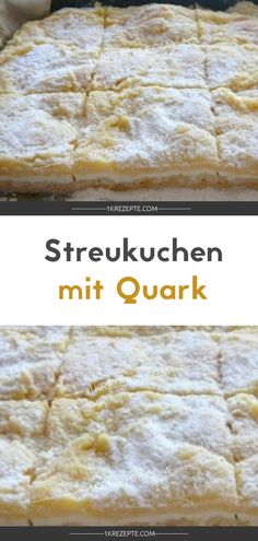Streukuchen mit Quark Scattering cake with cottage cheese Rezepte: Kuchen & Torten Food Cakes, Torte Au Chocolat, Queijo Cottage, Cookie Recipes, Dessert Recipes, Easy Smoothie Recipes, Cinnamon Cream Cheeses, Fall Desserts, Cottage Cheese