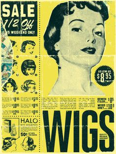Hair piece / poster - Curt Merlo Design