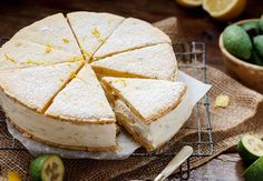 Walnut Shortbread Recipe with Feijoa and Ricotta Filling - This shortcake recipe is not too sweet, and quite impressive Fejoa Recipes, Guava Recipes, Cooking Recipes, Budget Cooking, Walnut Recipes, Fruit Recipes, Cooking Ideas, Recipies, Ricotta Filling Recipe
